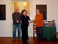 Dodela priznanja Katalin Ladik