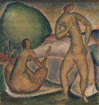 Ivan Radovic, Dva akta u pejzazu, 1919.