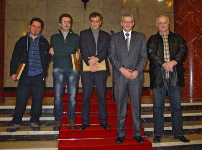 Danijel Babic, Nebojsa Milenkovic, Lazar Markovic,  Milorad Djuric, Luka Salapura