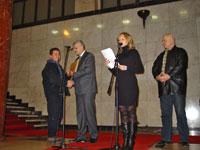 Danijel Babic, Milorad Djuric - Urucenje priznanja