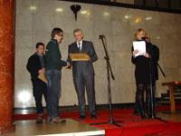 Nebojsa Milenkovic, Milorad Djuric - Urucenje priznanja