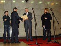 Lazar Markovic, Milorad Djuric - Urucenje priznanja