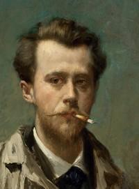 Vlaho Bukovac. Autoportret. 1883. Narodni muzej u Beogradu